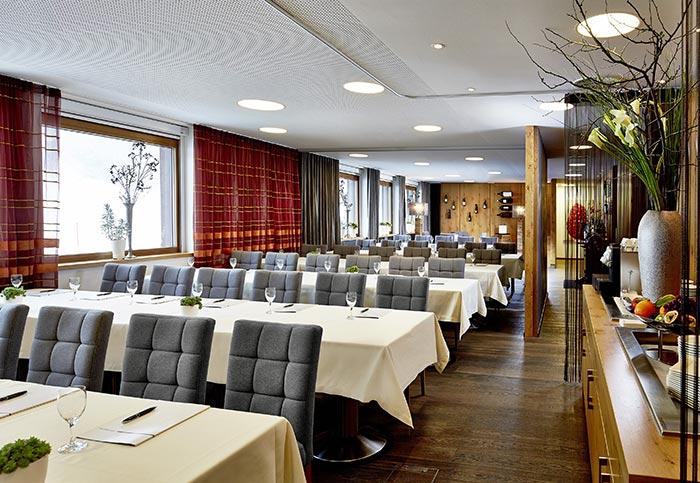 Business & Meetings 5-Sterne Relais & Châteaux Luxushotel Gourmetrestaurant Hotel Restaurant Spa Rosengarten Kirchberg Tirol