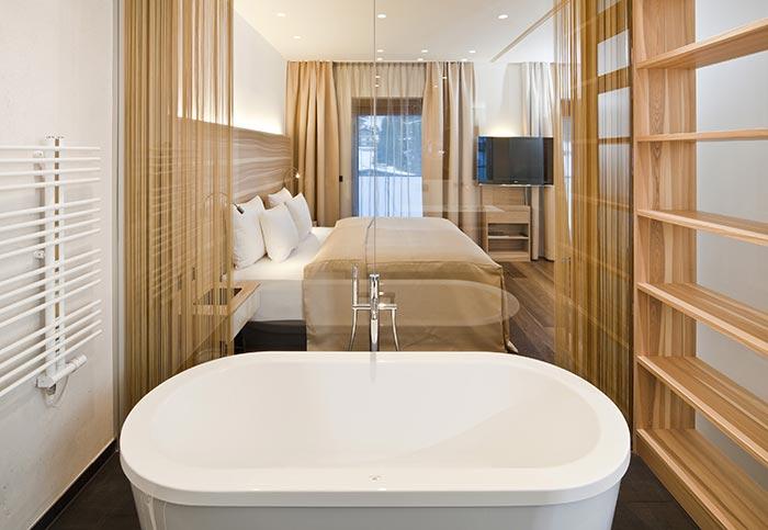 Zimmer und Suiten 5-Sterne Relais & Châteaux Luxushotel Gourmetrestaurant Hotel Restaurant Spa Rosengarten Kirchberg Tirol