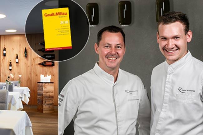 Relais Chateaux Hotel Rosengarten Kirchberg Kitzbuehel Bistro Restaurant Gault&Millau 2018