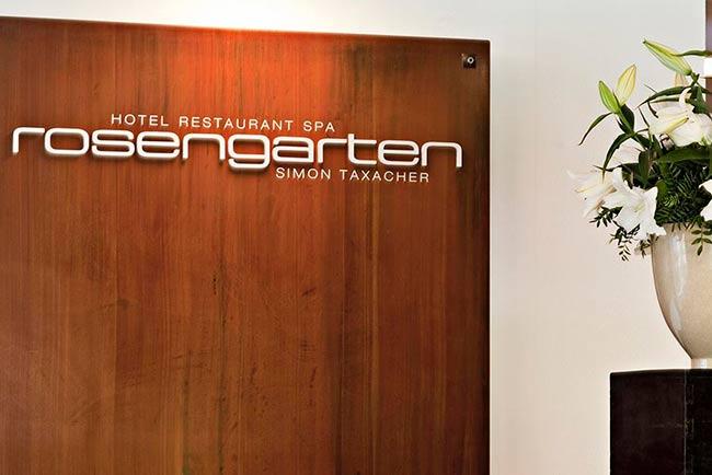 Relais & Châteaux Rosengarten gallery 5-star hotel in Kirchberg