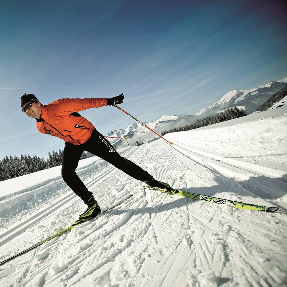 Cross-country skiing in Kitzbühel Relais & Châteaux Hotel Rosengarten
