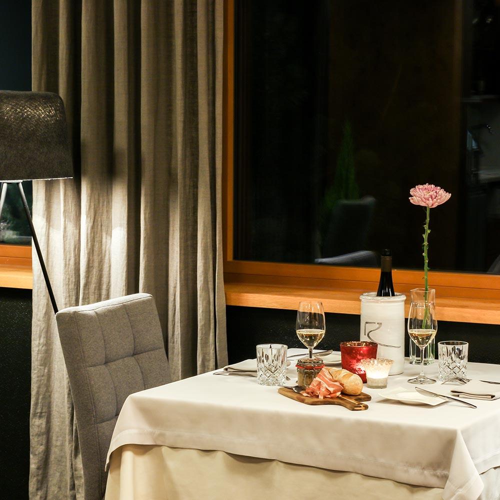 Abendessen à la Carte Bistro-Restaurant Rosengarten Haubenrestaurant Hotel Spa Kirchberg