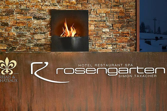 Relais Chateaux Lifestyle 5 Sterne Hotel Restaurant SPA Rosengarten Kirchberg Tirol Austria