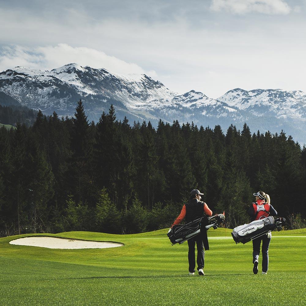 Golf Urlaub in Tirol 5-Sterne Relais & Châteaux Luxushotel Gourmetrestaurant Hotel Restaurant Spa Rosengarten
