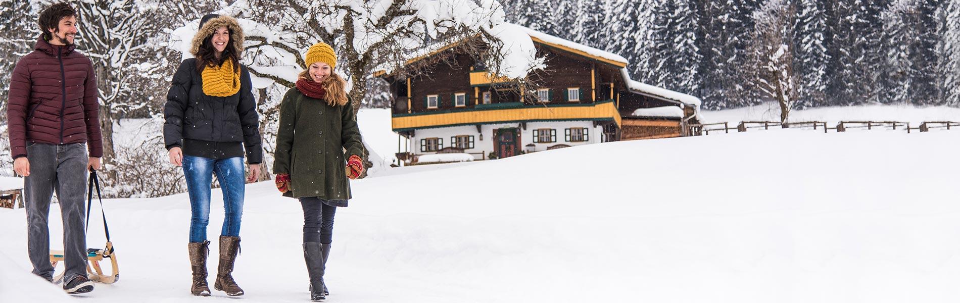 Rodeln Biathlon Eisklettern Hotel Rosengarten 5 Sterne Hotel Relais & Châteaux Hotel Kirchberg Tirol Austria