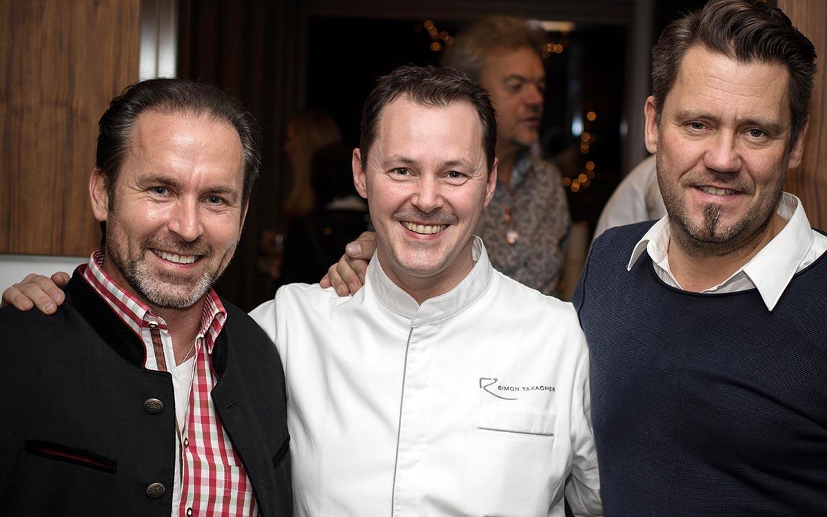 Das grosse Fest mit Freunden 5-Sterne Relais & Châteaux Luxushotel Gourmetrestaurant Hotel Restaurant Spa Rosengarten