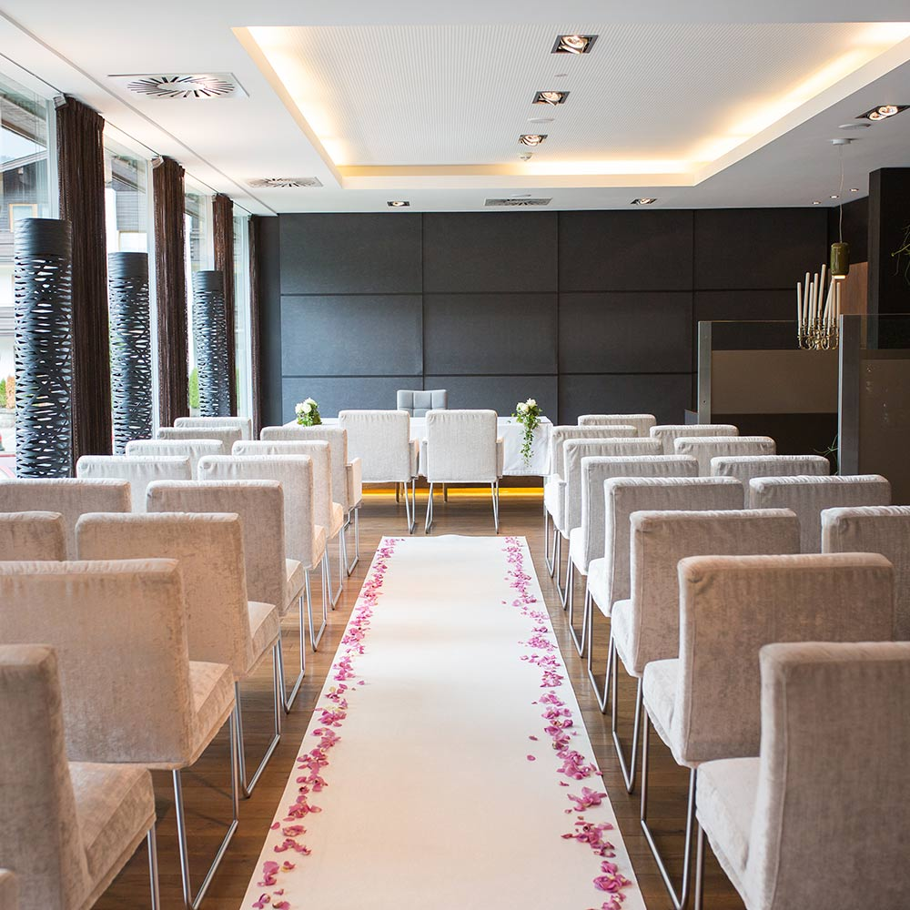 Hochzeit, Feste, Feiern Private Eventlocation Kitzbühel Hotel Rosengarten Tirol Österreich