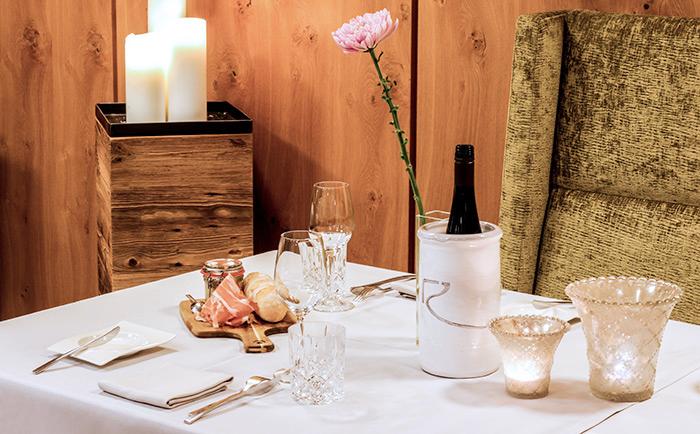 Kulinarik Hotel Rosengarten Relais & Châteaux Kitzbühel Tirol