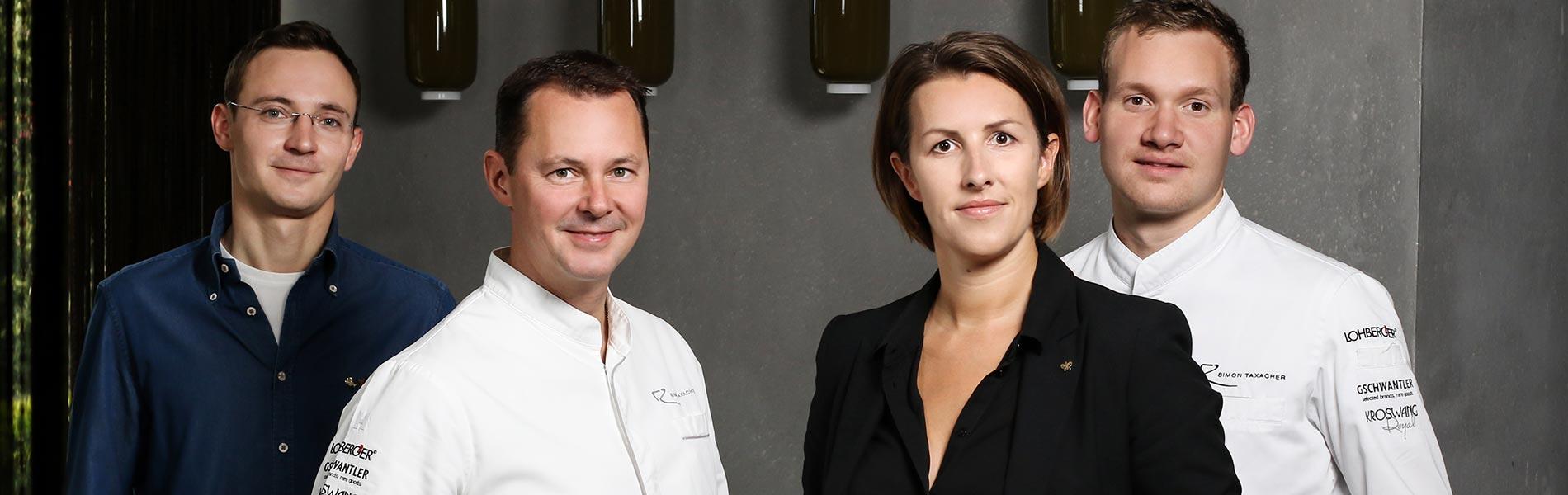 Management und Team Hotel Rosengarten 5 Sterne Hotel Relais & Châteaux Hotel Kirchberg Tirol Austria
