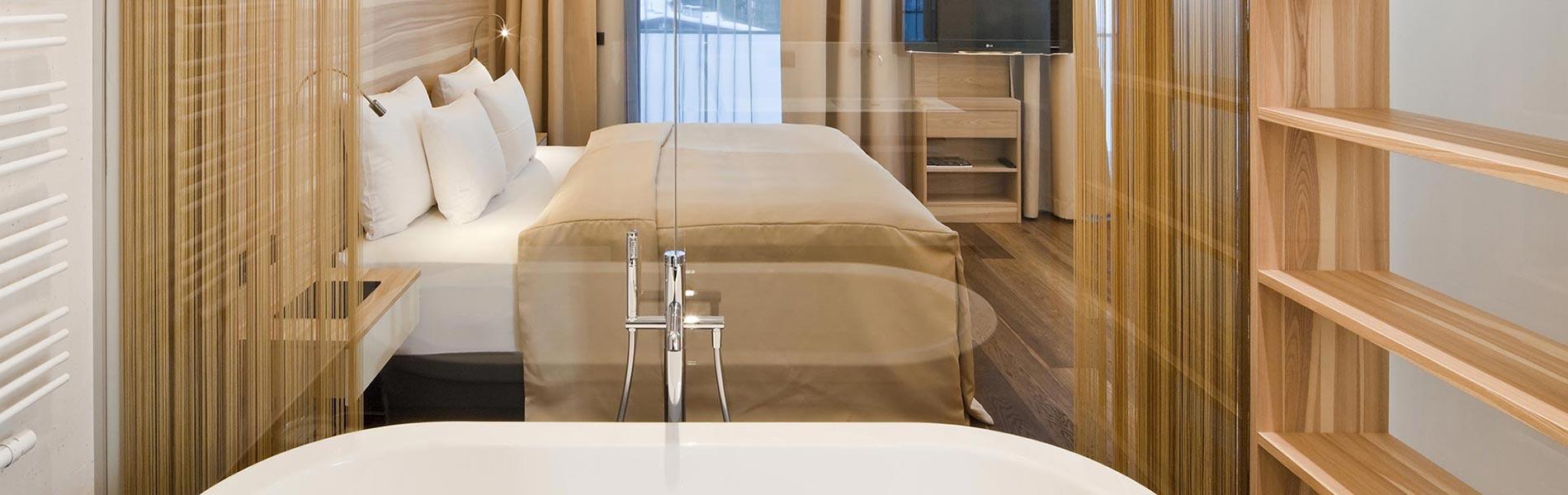 Zimmer Hotel Rosengarten 5 Sterne Hotel Relais & Châteaux Hotel Kirchberg Tirol Austria