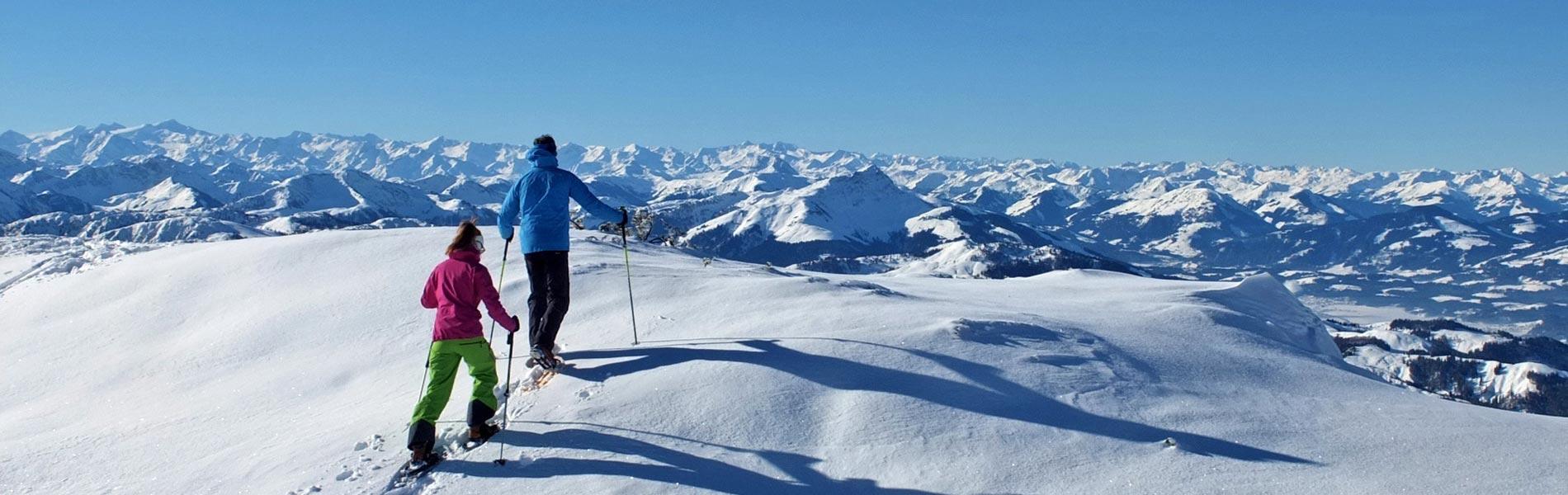 Winterwandern Hotel Rosengarten 5 Sterne Hotel Relais & Châteaux Hotel Kirchberg Tirol Austria