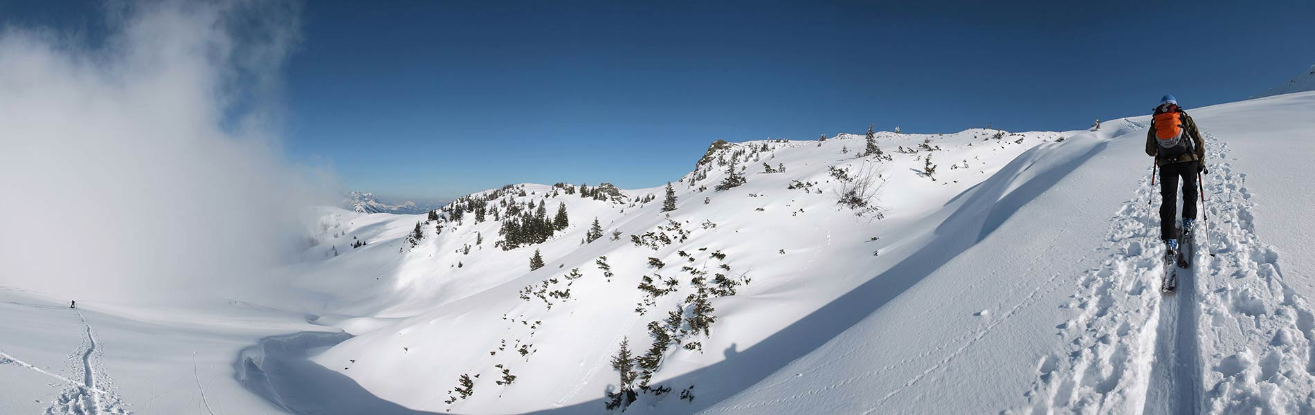 Skitouren in Tirol Skitourenparadies Brixental Hotel Rosengarten Tirol