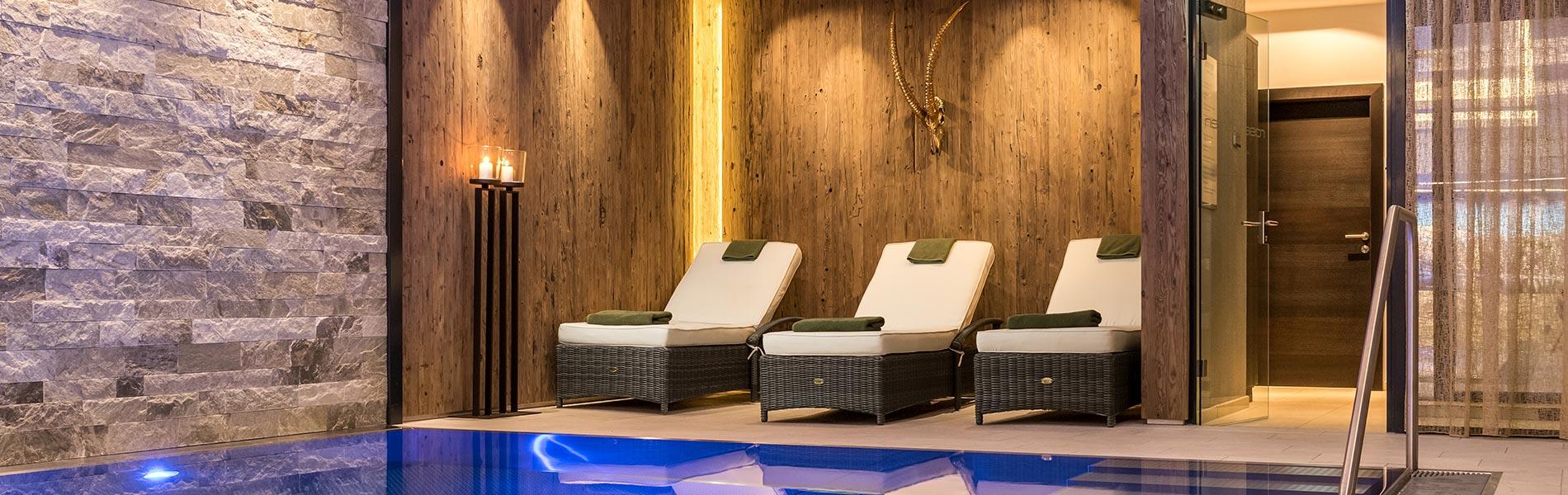 Schwimmbad Hotel Rosengarten 5 Sterne Hotel Relais & Châteaux Hotel Kirchberg Tirol Austria