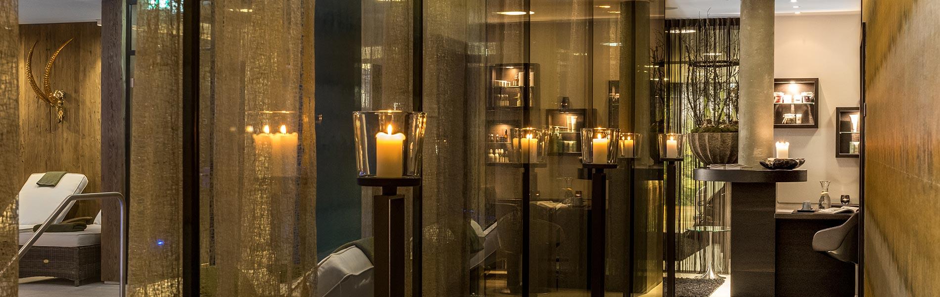 Spa-Bereich Hotel Rosengarten 5 Sterne Hotel Relais & Châteaux Hotel Kirchberg Tirol Austria