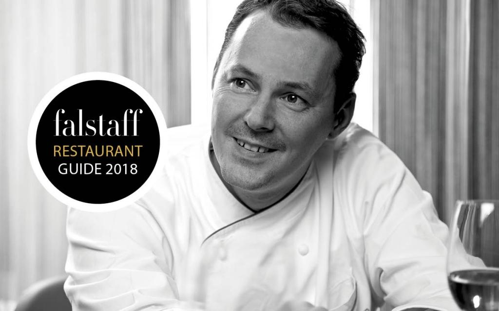 Falstaff 2018 Gourmetrestaurant Kirchberg Kitzbuehel Relais Chateaux 5 Sterne Hotel Rosengarten Tirol Simon Taxacher Falstaff 2018