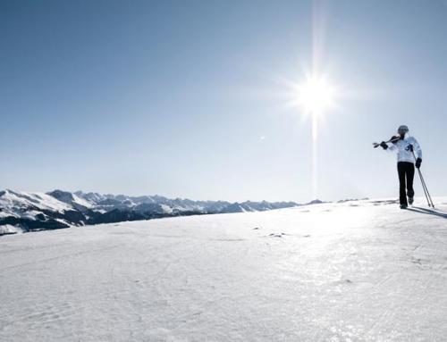 Skifun im Skigebiet KitzSki in Kirchberg/Kitzbühel