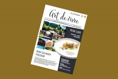 5-star Relais & Châteaux Rosengarten Spa Kirchberg Kitzbuehel Tyrol Austria Art de Vivre summer magazine