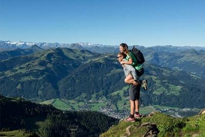 Hiking holiday Kirchberg Kitzbuehel Tyrol Relais & Châteaux Hotel Rosengarten