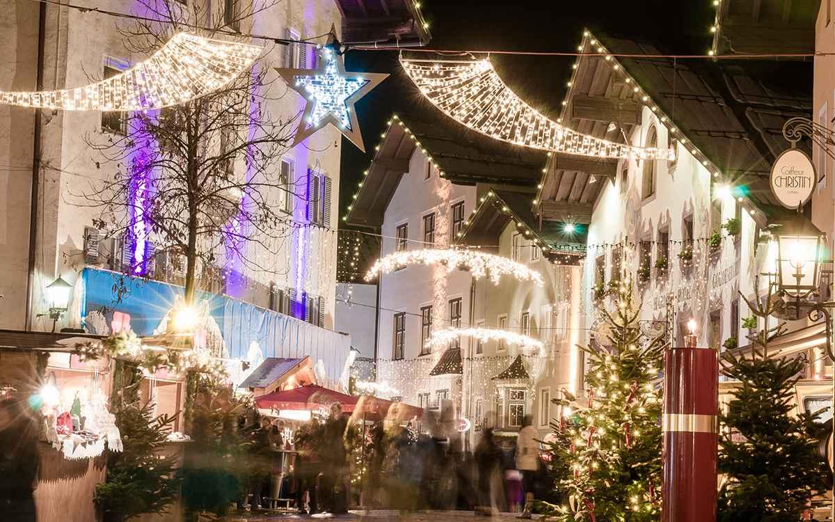 5-Sterne-Hotel Kitzbuehel Relais Chateaux Hotel Restaurant SPA RosengartenTirol Austria_Art de Vivre_Weihnachtsmarkt Kitzbuehl