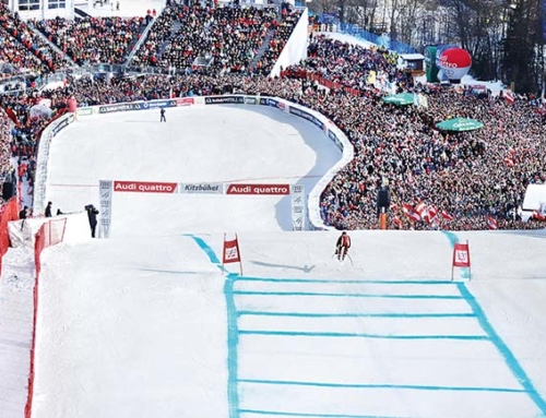 The legendary Hahnenkamm Races