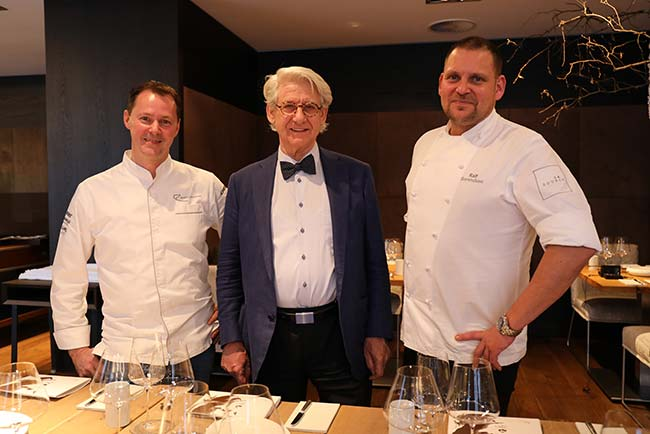 Internationales Gourmetevent in Kirchberg-Kitzbühel Simon Taxacher Piet Stockmann Ralf Berendsen Kirchberg