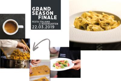 Rosengarten's pasta event