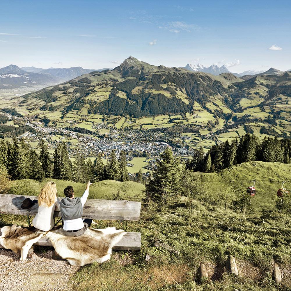 Lage & Umgebung Hotel Rosengarten Relais & Châteaux Kitzbühel Tirol