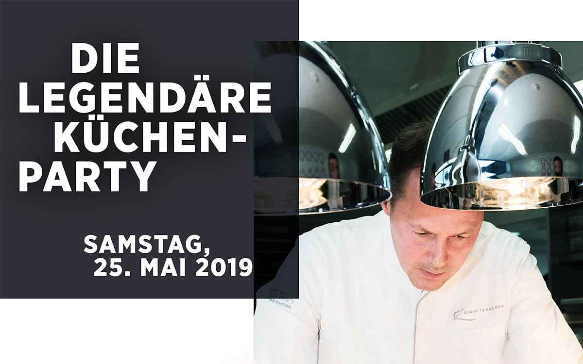 Gourmet Golf Trophy 5-Sterne-Hotel Rosengarten in Kirchberg Tirol Austria Kuechenparty