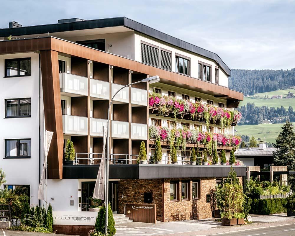 How to find us - Hotel Restaurant SPA Rosengarten Kirchberg Tyrol Austria