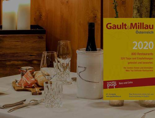 Gault&Millau 2020: 2 toques for Bistro-Restaurant