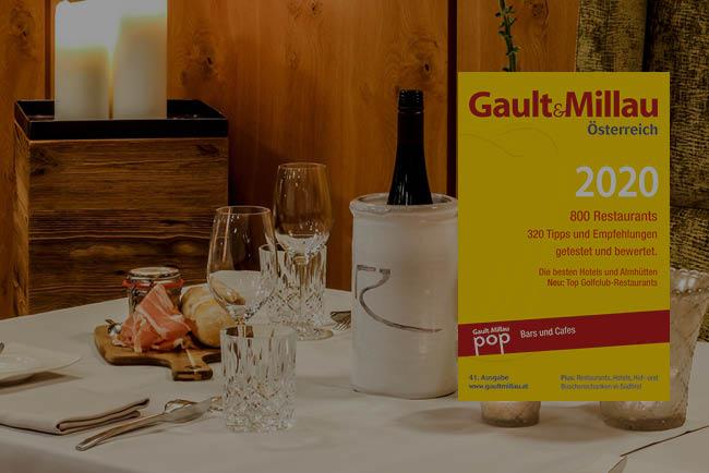 Gault Millau 2020 2 Hauben für Bistro-Restaurant Rosengarten