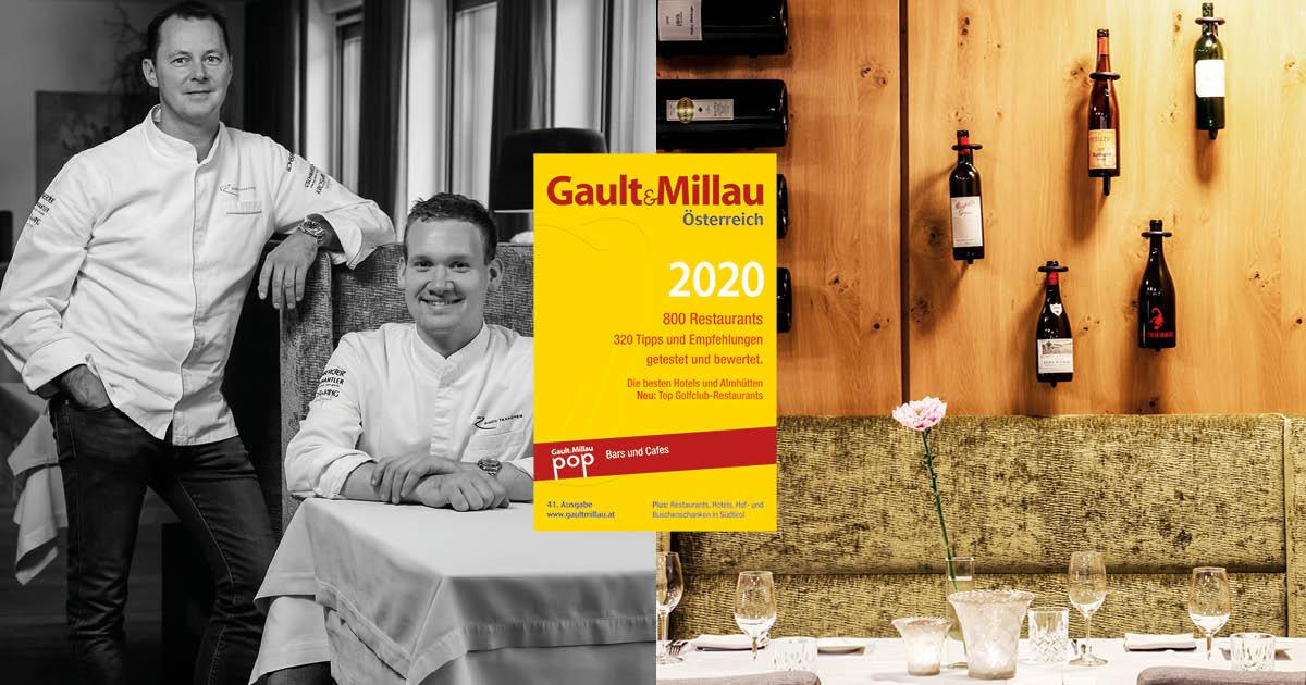 Gault&Millau 2020: 2 toques for Bistro-Restaurant Rosengarten