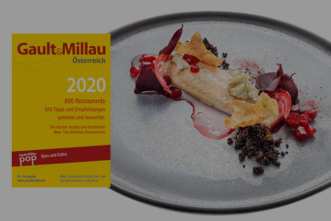 5 toques | 19 points in Gault Millau 2020 for Restaurant Simon Taxacher