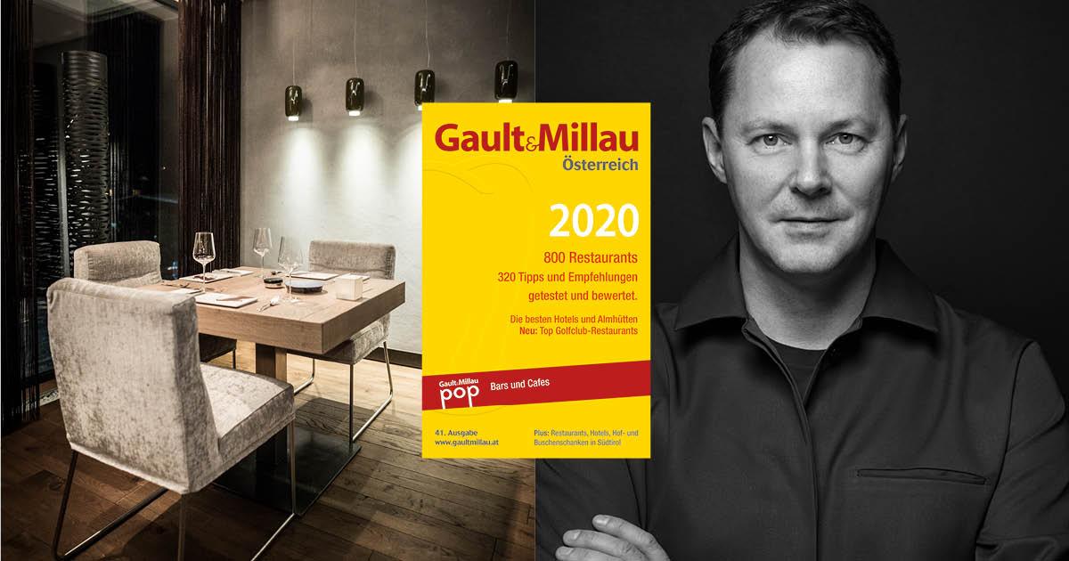 5 toques | 19 points in Gault Millau 2020 for Restaurant Simon Taxacher