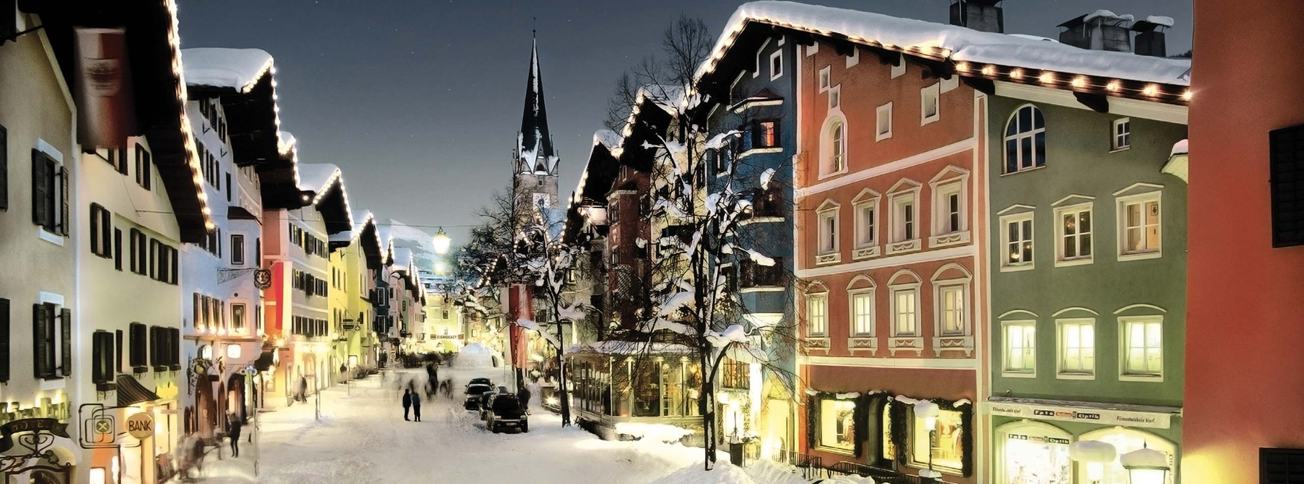 Aprés-Ski, shopping, nightlife in the Kitzbühel Alps Hotel Rosengarten