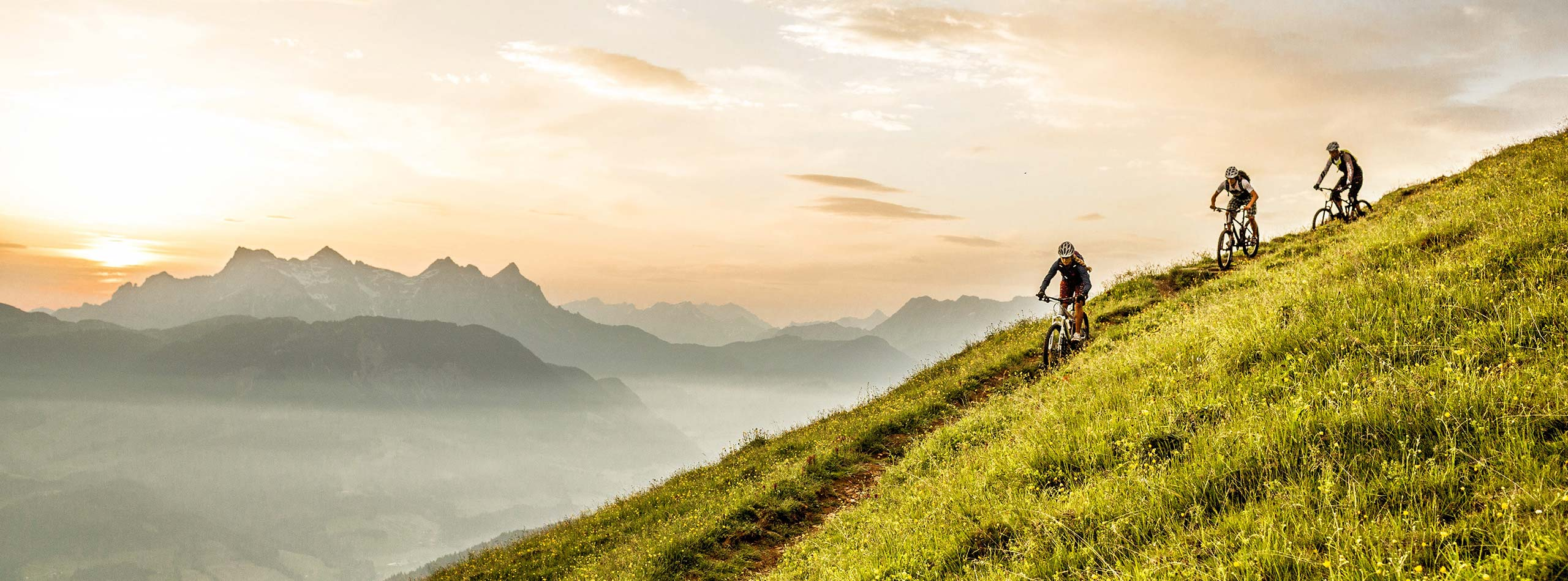 Cycling and mountain biking 5-star luxury hotel Rosengarten Kirchberg Tyrol