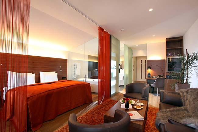 Rooms of delight at Rosengarten hotel in Kirchberg Rosengarten Tyrol