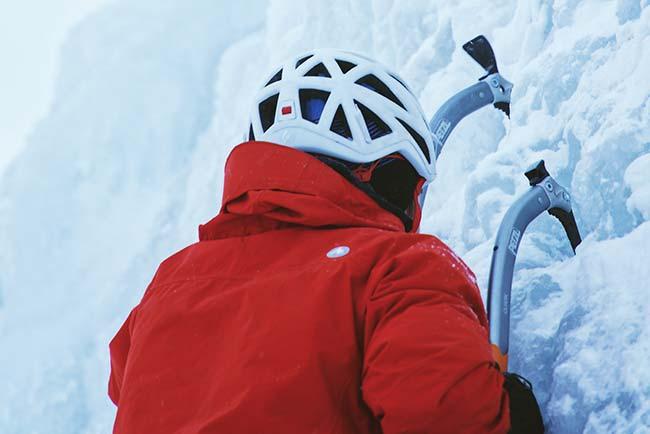 Ice climbing in Kirchberg 5-star Hotel Spa Rosengarten Tyrol