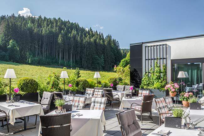 Gastronomy Michelin-starred restaurant Hotel SPA Rosengarten Tyrol