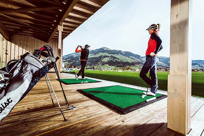 Golf in the Kitzbühel Alps Hotel Restaurant Spa Rosengarten Tyrol Austria